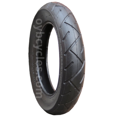 Most Common Pram Size 57-203 Pram Tyre /& Bent Valve Tube 12 1//2 X 2 1//4