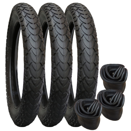 Tyre and Inner Tube Set for Phil & Teds E3
