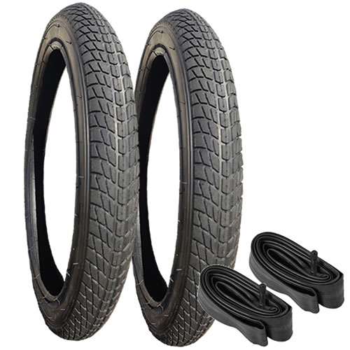 10201 - Tyre & Inner Tube Set for rear wheels of Mountain Buggy Terrain