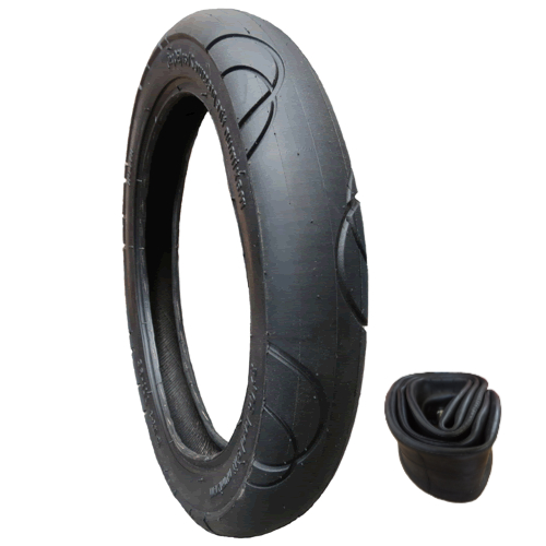 20111 - Bugaboo Donkey tyre size 39-177 for front wheels - plus inner tube