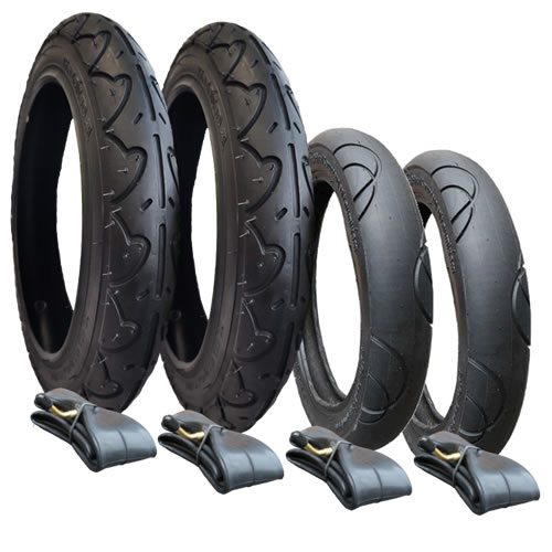 Bugaboo Donkey Tyres and Inner Tubes - Set of 4