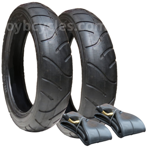 10138 - Tyre & Inner Tube Set for Mothercare Xcursion (x 2) size 255