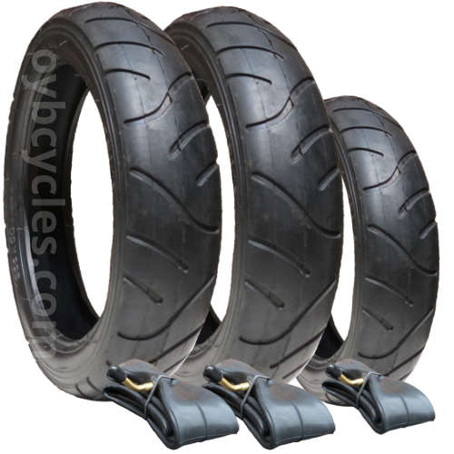 10137 - Maxi Cosi Speedi Tyre & Tube Set x 3 (280/255)