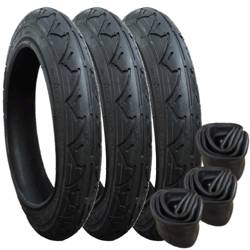 Tyres and Inner Tubes for Phil & Teds Sport - set of 3