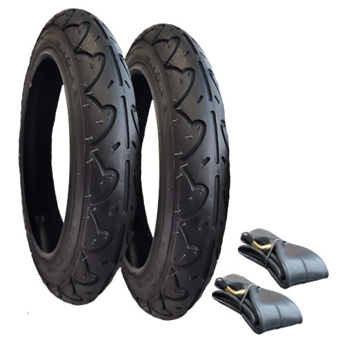 Bugaboo Donkey Tyres and Inner Tubes - set of 2 for rear wheels