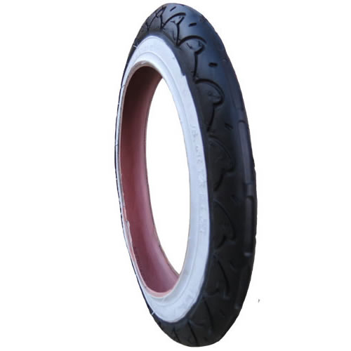 "Genuine Phil and Teds Sport Replacement Tyre 12 1/2"" x 1.75 x 2 1/4"" (47-203) Kenda"