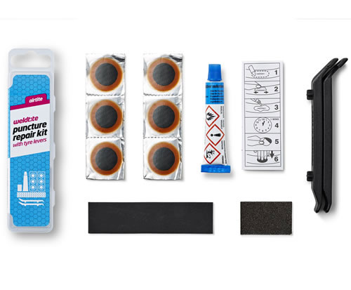 Puncture Repair Kit with Tyre Levers