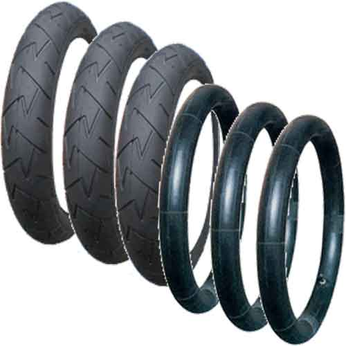 Tyre and Inner Tube Set for Phil & Teds (V57)