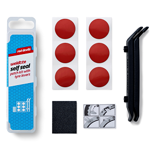 Red Devils Puncture Repair Kit with Tyre Levers